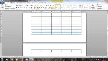 Как оформить продолжение таблицы по ГОСТу: пример