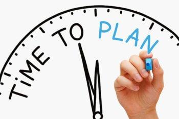 План на день