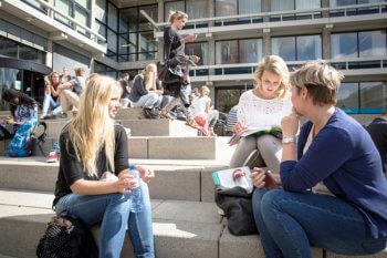 Студенты в Голландии