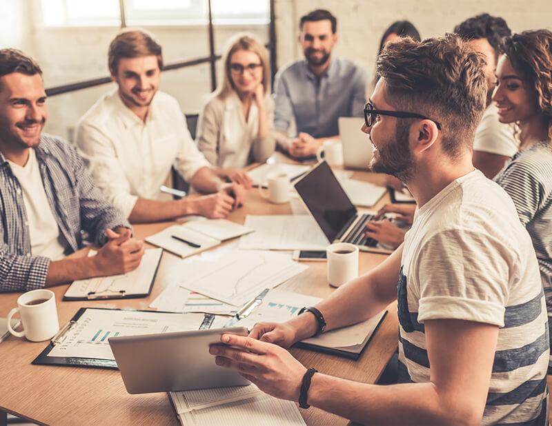 Работа в группах - основной навык