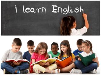 Дети изучают английский