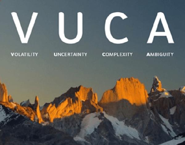 VUCA - нестабильность, неопределенность, сложность, неоднозначность